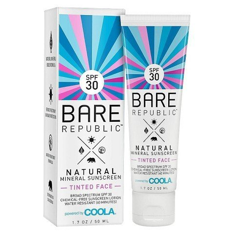 Bare Republic-Mineral Tinted Face Sunscreen Lotion SPF 30