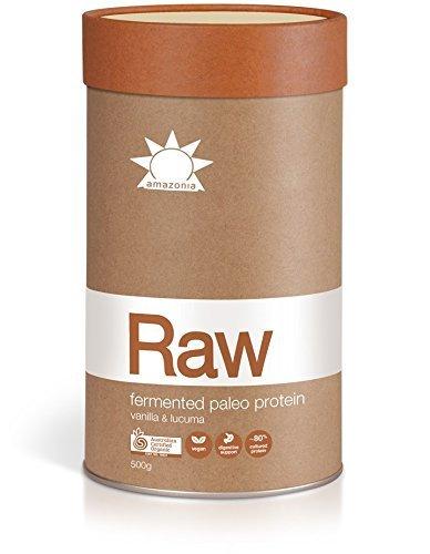 Amazonia-RAW Australian Vegan Organic Fermented Paleo Protein - Vanilla & Lucuma 500g