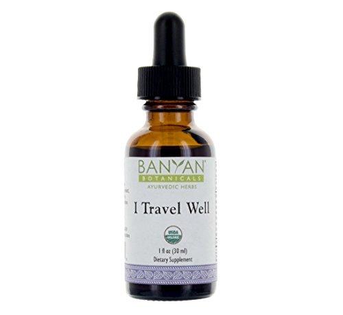 Banyan Botanicals-Travel Well Liquid Extract - 1 oz