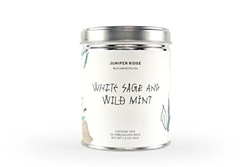 Juniper Ridge-Wildharvested Tea- White Sage & Wild Mint