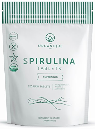 The Organique Co.-Spirulina Tablets