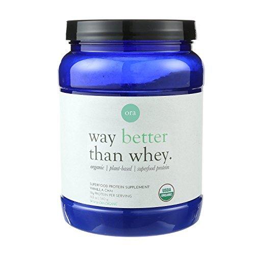 Ora Organic-Gourmet Vanilla Chai Protein Powder