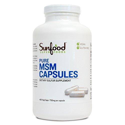Sunfood-MSM Capsules- 400vegcaps