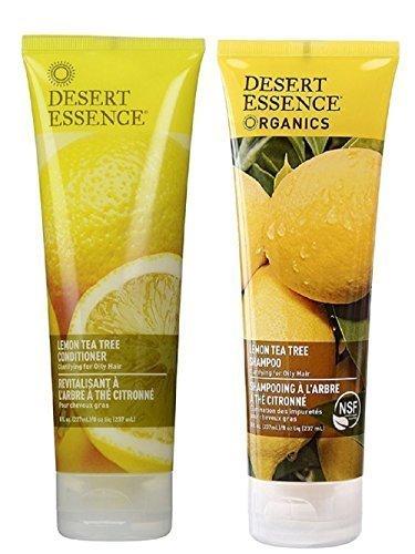 Desert Essence-Lemon Shampoo and Conditioner Set
