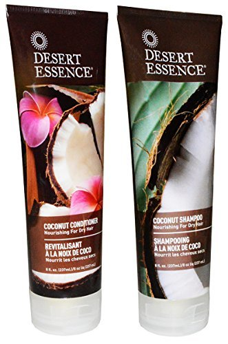 Desert Essence-Coconut Shampoo and Conditioner Set