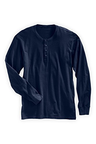 Fair Indigo-Fair Trade Organic Long Sleeve Henley
