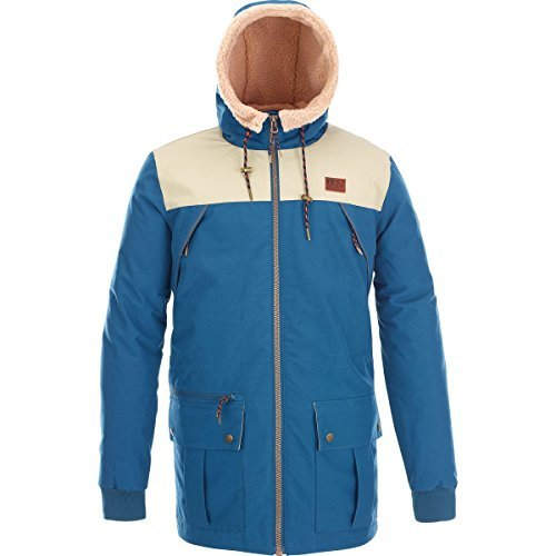 Picture Organic-Picture Organic Vermont Jacket - Men's Petrol Blue, L