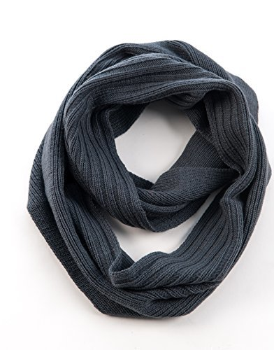 Nirvanna Designs-Double Ribbed Wide Infinity Scarf