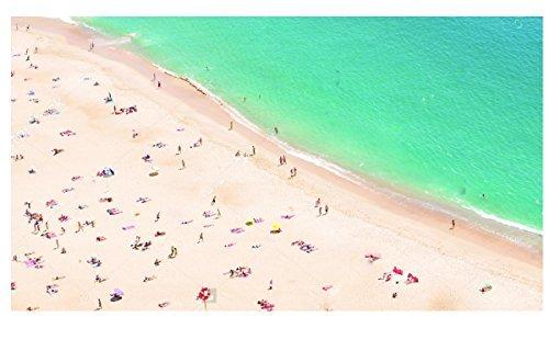 Quagga Green-Beach Print Scarf