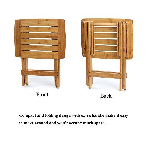 ETECHMART-Bamboo Freestanding Bath Storage Floor Cabinet