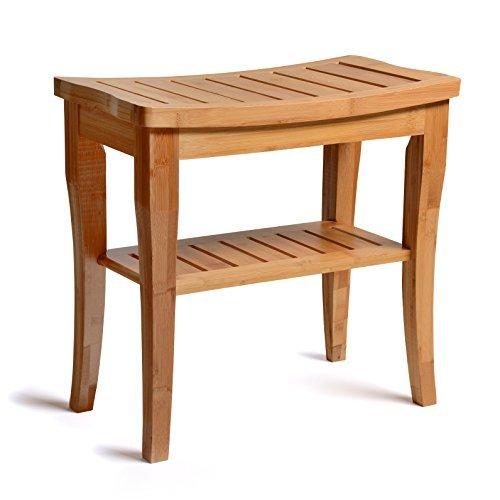 Bambüsi-Bamboo Shower Seat Bench