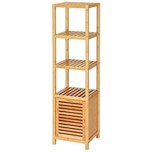 Ollieroo-Bamboo Bathroom Shelf