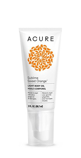 Acure-Sublime Sweet Orange Light Body Oil