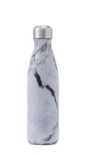 S'well-White Marble Stainless Steel Bottle