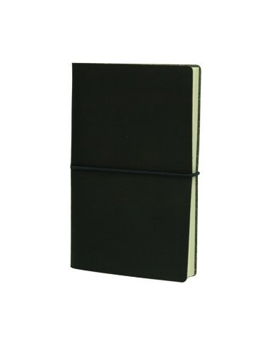 Paperthinks-Memo Pocket Recycled Leather Notebook, 3.5 x 6