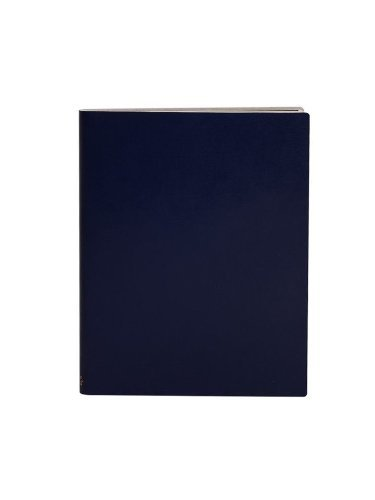 Paperthinks-Extra Large Ruled Recycled Leather Notebook, 7 x 9