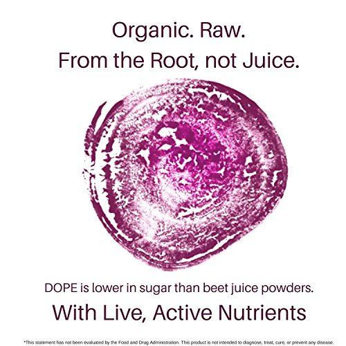 DOPE Naturally-Beet Force, Raw Organic Beet Root Powder for Beauty, Energy + Stamina Support
