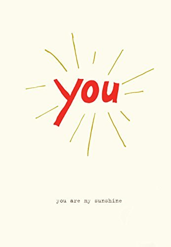 Lark Press-You Are My Sunshine Blank Card, 3.5 X 4.75 (1)