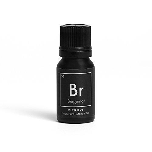 Vitruvi-Bergamot Essential Oil, 100% Pure Undiluted Premium Grade Essential Oil