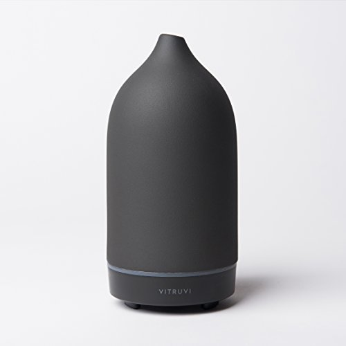 Vitruvi-Hand-Crafted Ultrasonic Essential oil Diffuser for Aromatherapy