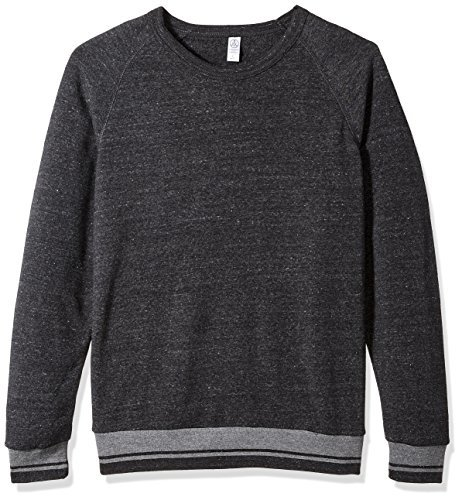 Alternative-Stripe Crew Sweatshirt