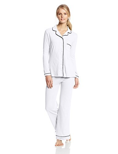 Only Hearts-Organic Cotton Piped Pajama