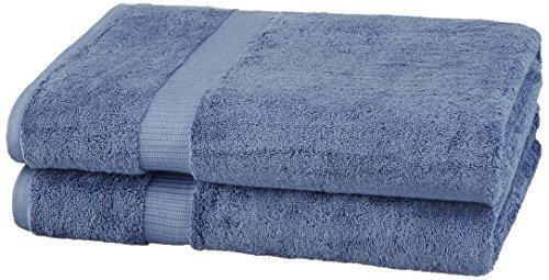 Pinzon by Amazon-Organic Cotton Blended Bath Sheet - 2-Pack