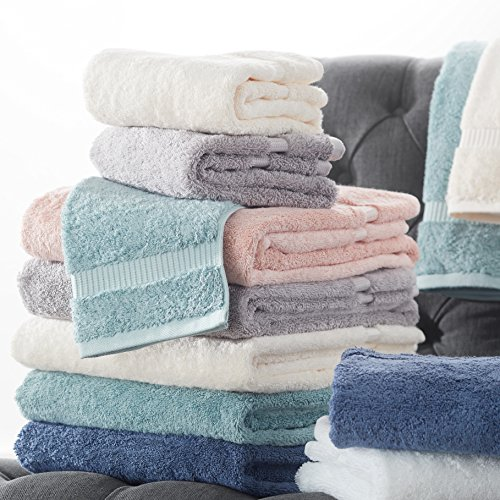 Pinzon by Amazon-Organic Cotton Blended Towels - 6 Piece Set