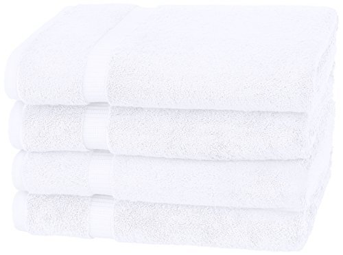 Pinzon by Amazon-Organic Cotton Blended Bath Towels - 4-Pack