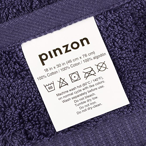 Pinzon by Amazon-Organic Cotton Blended Hand Towels - 6-Pack