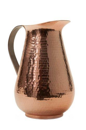 Sertodo Copper-Bisotun Hammered Copper Water Pitcher
