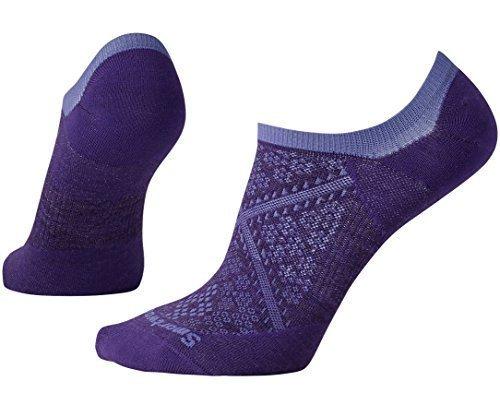 SmartWool-Smartwool PhD Run Ultra Light No Show Sock - Women's Mountain Purple Small