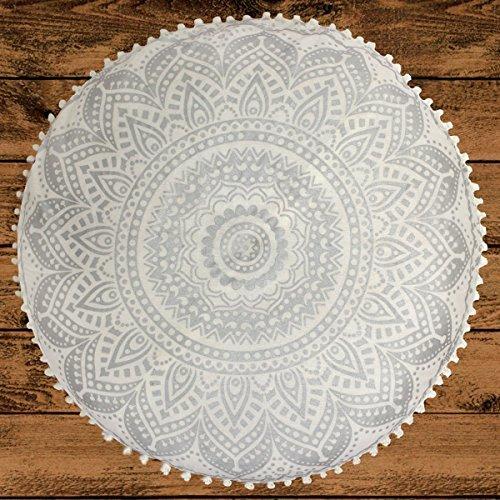 Mandala Life ART Bohemian Decor Floor Cushion - INSERT INCLUDED ...
