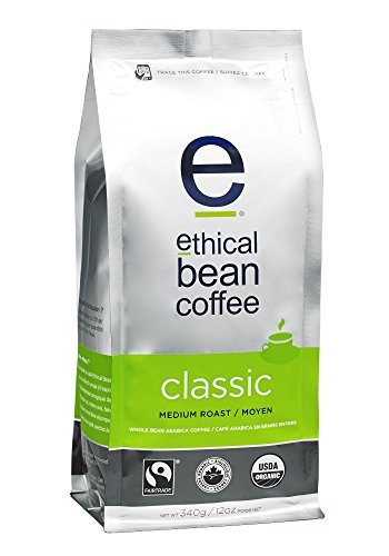 Ethical Bean Coffee-Fair Trade + Organic Ethical Bean Classic Coffee