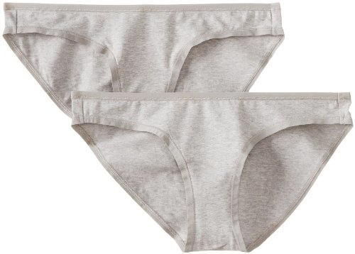 Pact-Pact Women's Organic Cotton Bikini Brief Panties 2-Pack