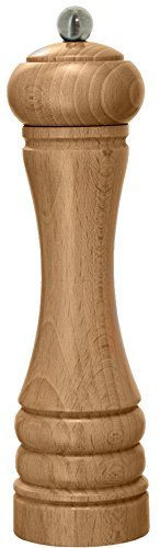 De Buyer-WOODEN Mill JAVA Spices Mill in Natural Wood Color, 8.25-Inch