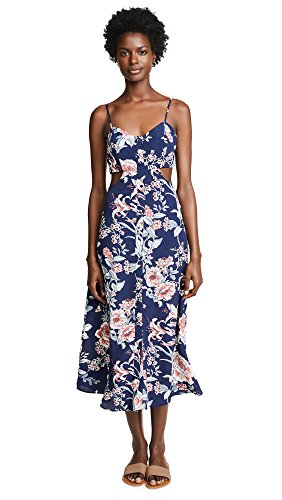 Flynn Skye-Flynn Skye Women's Mallory Maxi Dress, Rosy Waters, Medium