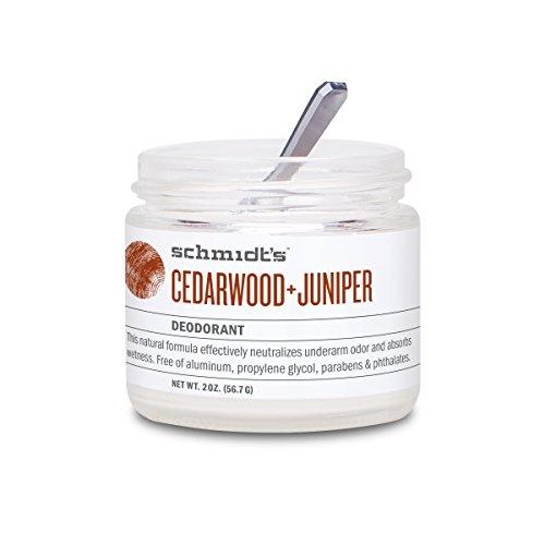 Schmidt's Deodorant-Schmidt's Natural Deodorant - Cedarwood  Juniper Jar 2 ounce