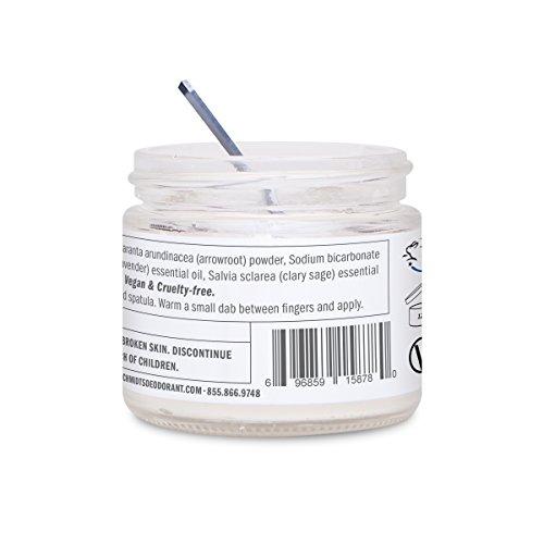 Schmidt's Deodorant-Schmidt's Natural Deodorant - Lavender and Sage Jar 2 ounce