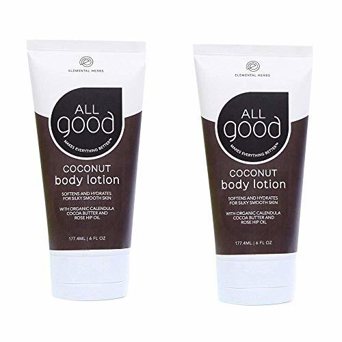 All Good-All Good Body Lotion (2-Pack, Coconut)