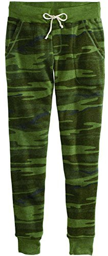 Alternative-Alternative Eco Fleece Women's Jogger Pant in Camo, womens - XS