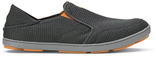 OLUKAI-OLUKAI Nohea Mesh Shoe - Men's Dark Shadow/Dark Shadow, 11.5