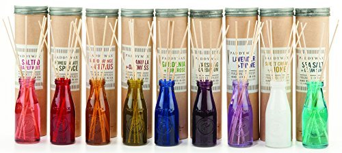 Paddywax Candles-Paddywax Relish Collection Reed Oil Diffuser Set, Balsam Fir