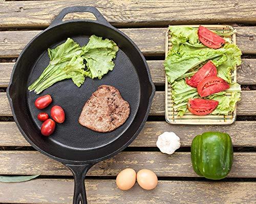Utopia Kitchen-Utopia Kitchen Pre-Seasoned Cast Iron Skillet Bulk 4-Pack - 12.5 Inches