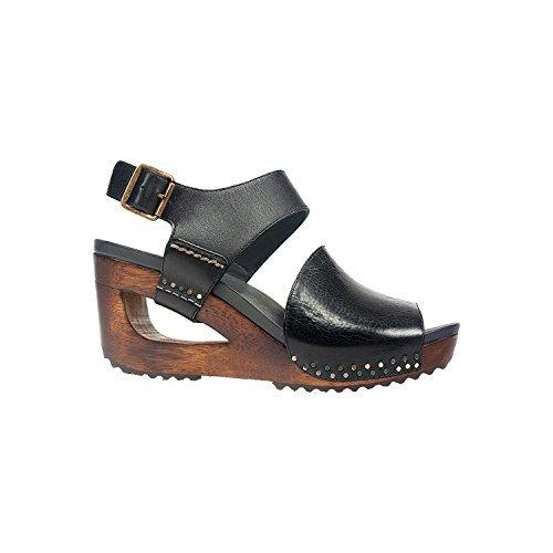 Dansko-Dansko Women's Shona Black Tumbled Calf Sandal