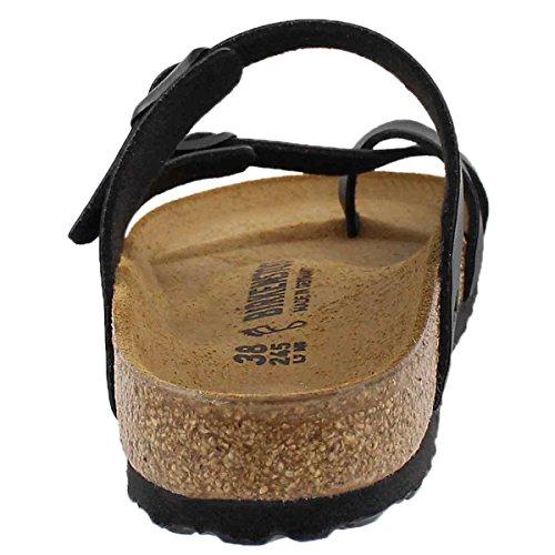 Birkenstock-Birkenstock Womens Mayari Black Regular Fit Sandals Size 4.5