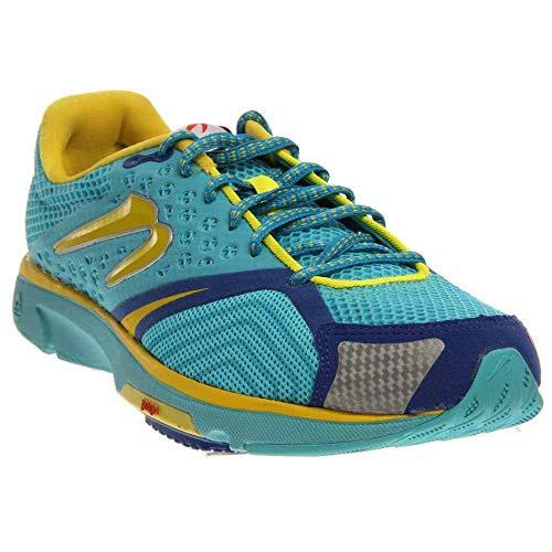 Newton Running-Newton Running Women's Distance S III Blue/Yellow Running Shoe 5 Women US