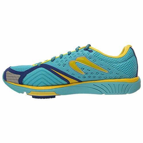 Newton Running-Newton Running Women's Distance S III Running Shoes 6.5 Blue/Yellow